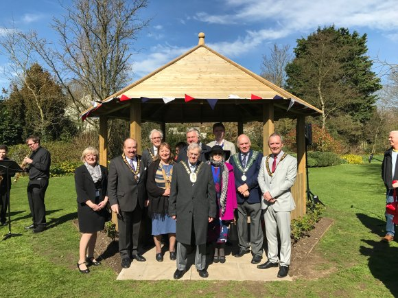 Queen's Jubilee Gazebo Official Opening