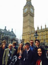 Youth Councillors in Westminster