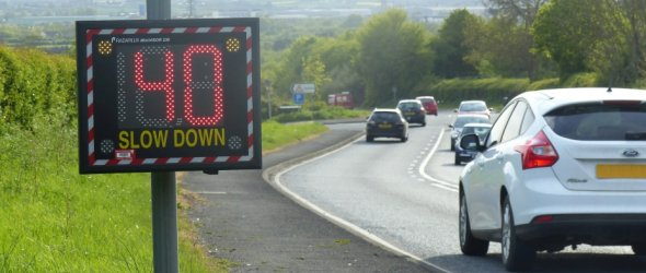 Image: Speed Indicator Device Coming To Buntingford